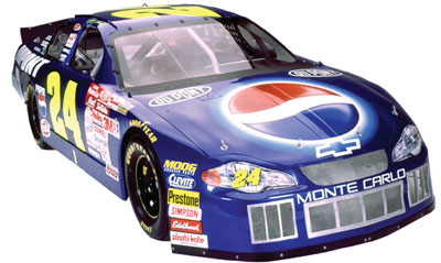 NASCAR Simulators and Show Cars